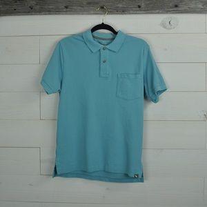 Eddie Bauer short sleeve polo shirt